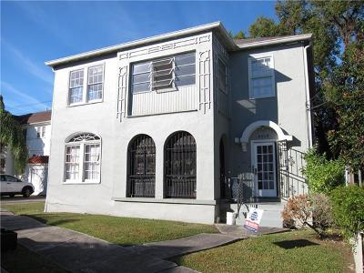 Jefferson Parish, Orleans Parish Multi Family Home For Sale: 2015 S Rendon Street