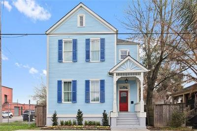 New Orleans Single Family Home For Sale: 509 4th Street