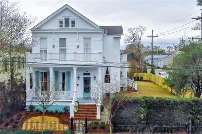 New Orleans Single Family Home For Sale: 5126 Prytania Street
