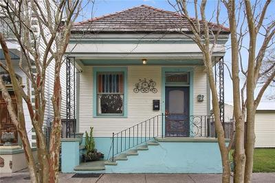 Single Family Home For Sale: 544 Olivier Street