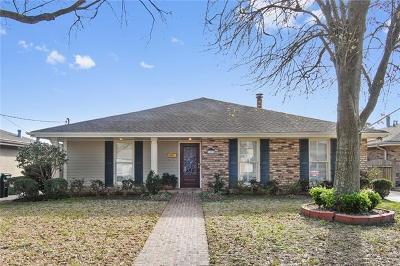Single Family Home For Sale: 5213 Burke Drive