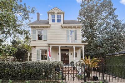 New Orleans Single Family Home For Sale: 5360 Chestnut Street