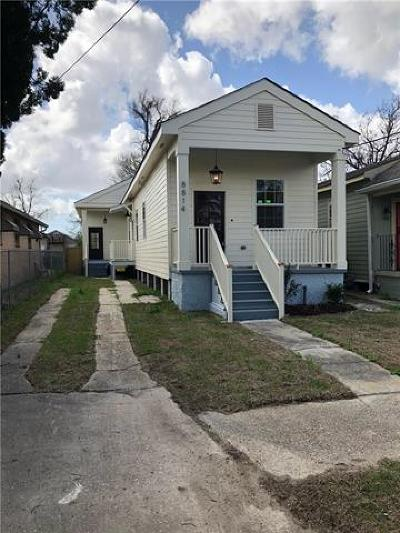Single Family Home For Sale: 8814 Palm Street