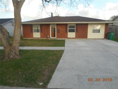 Gretna Single Family Home For Sale: 613 Bannerwood Drive
