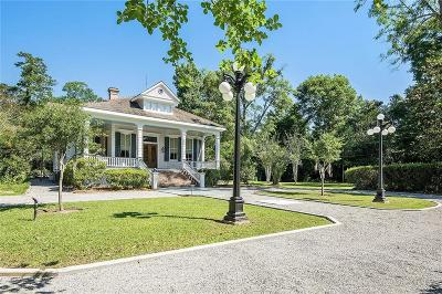 Covington LA Single Family Home For Sale: $1,590,000