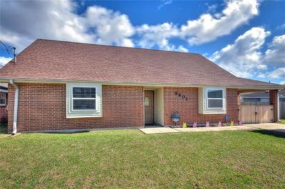 Single Family Home For Sale: 8601 Crochet Avenue