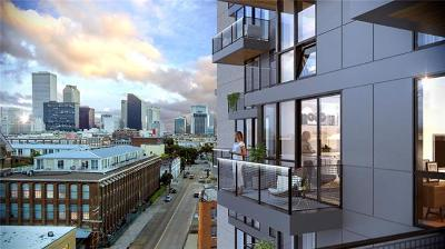 New Orleans Condo For Sale: 1100 Annunciation Street #605