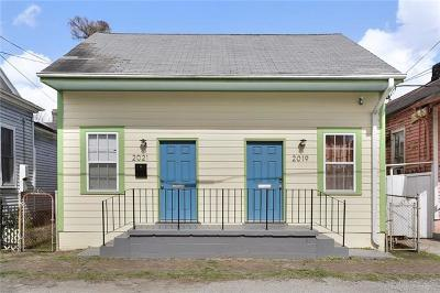 Jefferson Parish, Orleans Parish Multi Family Home For Sale: 2019 Kerlerec Street