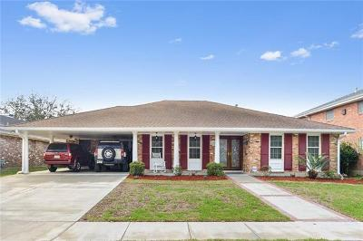 Metairie Single Family Home For Sale: 4908 Haring Court
