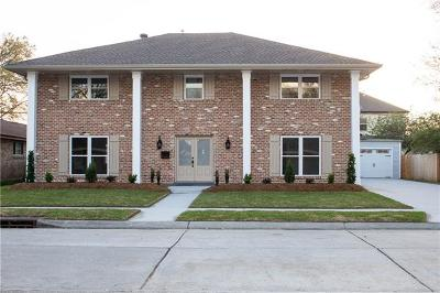 Metairie Single Family Home For Sale: 4820 Cleveland Place