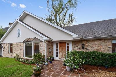Metairie Single Family Home For Sale: 524 Hector Avenue
