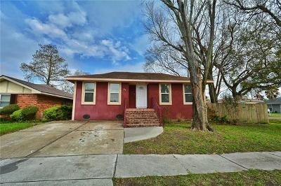 Kenner Single Family Home For Sale: 106 Houston Drive