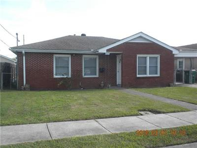 Gretna Single Family Home For Sale: 3037 Hero Drive