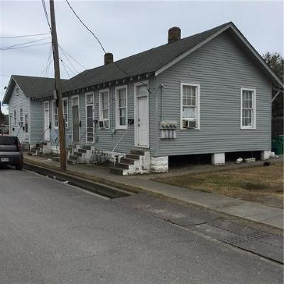 Jefferson Parish Multi Family Home For Sale: 301,303,305,307,309,311 Richard Street