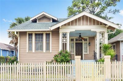 New Orleans Single Family Home For Sale: 3302 Vincennes Place