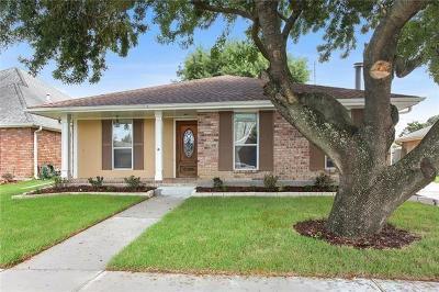 Kenner Single Family Home For Sale: 4102 St Elizabeth Drive