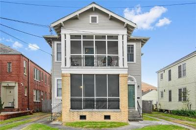 New Orleans Multi Family Home For Sale: 3507 Nashville Avenue