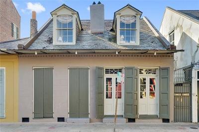 New Orleans Multi Family Home For Sale: 1118 Burgundy Street