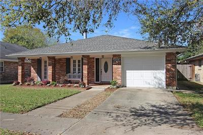 Metairie Single Family Home For Sale: 4708 Southshore Drive
