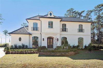 Mandeville LA Single Family Home For Sale: $1,450,000