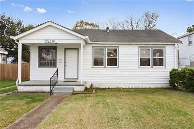 Metairie Single Family Home Pending Continue to Show: 3216 48th Street