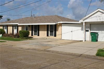 Gretna Single Family Home For Sale: 1005 35th Street