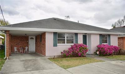 Metairie Single Family Home For Sale: 4612 Kawanee Avenue