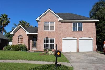 Marrero Single Family Home Pending Continue to Show: 2637 Crestway Road