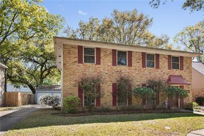 New Orleans Single Family Home For Sale: 3650 Rue Denise