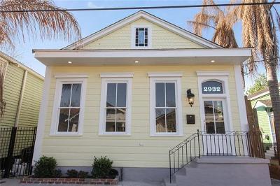 Single Family Home For Sale: 2932 Maurepas Street