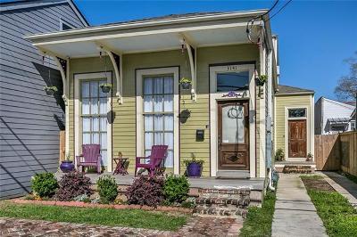 New Orleans Single Family Home For Sale: 3141 Laurel Street