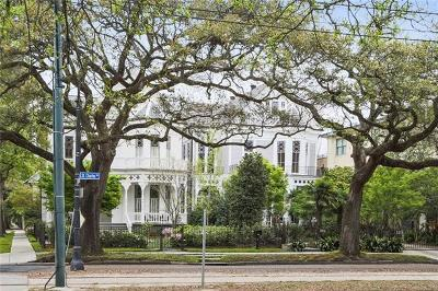 Single Family Home For Sale: 4827 St Charles Avenue