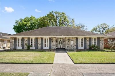 Metairie Single Family Home Pending Continue to Show: 561 Aris Avenue