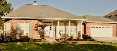 Gretna Single Family Home For Sale: 3528 Lake Lynn Drive