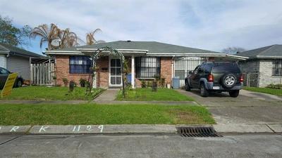 Harvey Single Family Home For Sale: 1129 Warren Drive