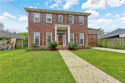 Metairie Single Family Home For Sale: 2116 Colapissa Street
