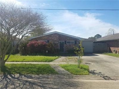 Metairie Single Family Home For Sale: 3756 Annette Drive