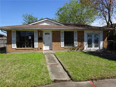 Kenner Single Family Home Pending Continue to Show: 3724 Tulane Drive