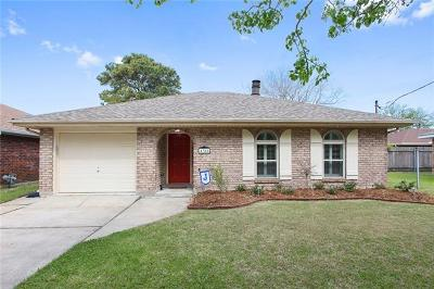Metairie Single Family Home For Sale: 4305 St Francis Street