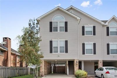 Destrehan Townhouse For Sale: 37 Brandon Hall Drive #A