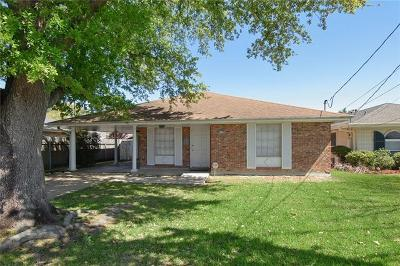 Metairie Single Family Home For Sale: 4729 Alexander Drive