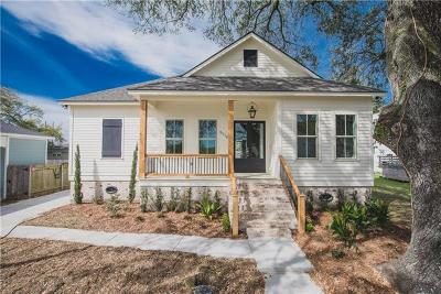 New Orleans Single Family Home For Sale: 5718 Cartier Avenue