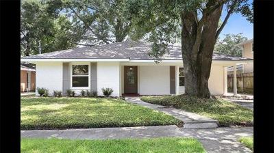 River Ridge, Harahan Single Family Home For Sale: 10109 Florence Court