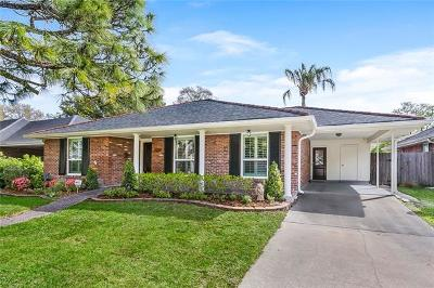 Metairie Single Family Home Pending Continue to Show: 3913 Ferran Drive