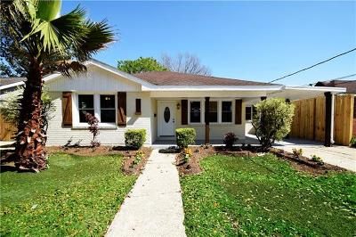 Metairie Single Family Home Pending Continue to Show: 317 N Bengal Road