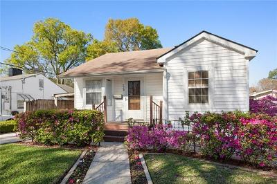 Metairie Single Family Home Pending Continue to Show: 720 Athania Parkway