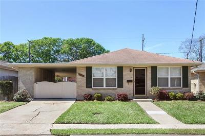 Metairie Single Family Home For Sale: 1132 Focis Street