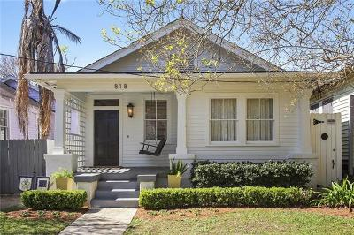New Orleans Single Family Home Pending Continue to Show: 818 Short Street