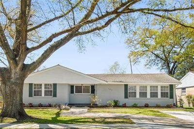 Metairie Single Family Home For Sale: 4212 Bissonet Drive