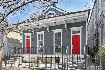New Orleans Multi Family Home For Sale: 935 Jackson Avenue